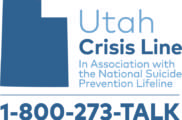 Utah Crisis Line - In association with the National Suicide Prevention Lifeline 1-800-273-TALK